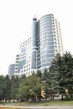 Der moderne Architekturkomplex Stockbild