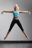 Der moderne Tänzer Stockbild