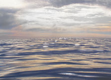 Der Moment des ruhigen Meeres Stockbilder