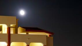 Der Mond nachts Lizenzfreies Stockfoto