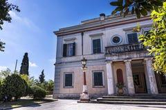 Der Montag-Repos-Palast u. Boden, errichtet im Jahre 1924 durch hohen Kommissar Frederick Adam und wurden neueres Eigentum der gr Lizenzfreie Stockfotos