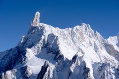 Der Montblanc-Ansicht Stockfoto