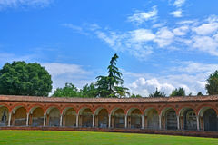 Der monumentale Kirchhof von Certosa - Ferrara, Italien Stockfoto