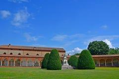 Der monumentale Kirchhof von Certosa - Ferrara, Italien Stockbild