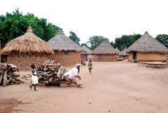 Der Morgen im Dorf Lizenzfreies Stockfoto