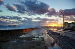 Der Morgen von Havana, Kuba stockfotografie