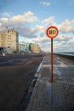 Der Morgen von Havana, Kuba stockbild