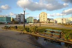 Der Morgen von Havana, Kuba lizenzfreie stockfotos