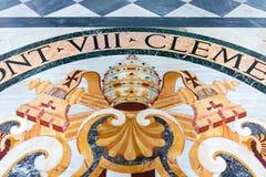 Der Mosaikfußboden der Basilika von St. Giovanni in Rom das sy lizenzfreies stockfoto