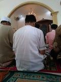in der Moschee Stockfoto