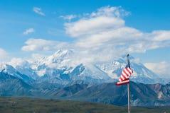 Der Mount McKinley stockfotos