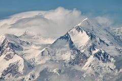 Der Mount McKinley, Alaska Stockfotografie