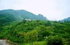 Der Mount Qingcheng stockfotografie