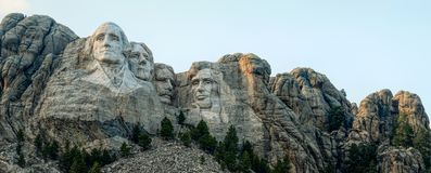 Der Mount Rushmore lizenzfreie stockbilder