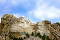 Der Mount Rushmore Stockbild