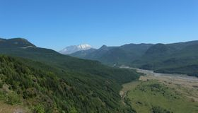 Der Mount Saint Helens stockfoto