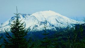 Der Mount Saint Helens im Fall lizenzfreie stockbilder