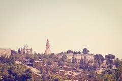 Der Mount Zion Stockfotografie
