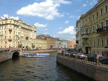 Der Moyka-Fluss, St Petersburg Lizenzfreies Stockbild