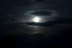 Der nächtliche Himmel Stockfoto