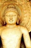 Der nachdenkliche Buddha Lizenzfreies Stockfoto