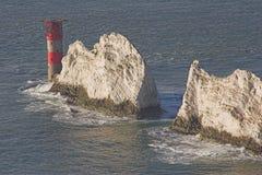 Der Nadelleuchtturm Stockbilder