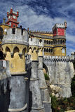 Der nationale Palast Pena - Sintra, Portugal Stockfoto