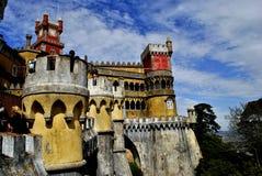 Der nationale Palast Pena - Sintra, Portugal Lizenzfreies Stockbild