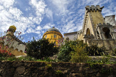 Der nationale Palast-Sintra Pena, Portugal stockbild