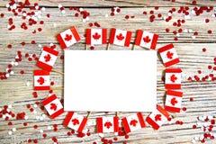 Der Nationalfeiertag vom 1. Juli - gl?cklichen Kanada-Tages, des Herrschaftstages, des Konzeptes von Patriotismus, der Unabh?ngig lizenzfreies stockfoto