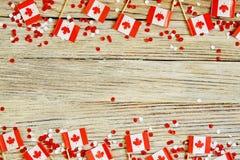 Der Nationalfeiertag vom 1. Juli - gl?cklichen Kanada-Tages, des Herrschaftstages, des Konzeptes von Patriotismus, der Unabh?ngig lizenzfreie stockfotografie