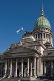 Der Nationalkongreß in Buenos Aires Stockbild