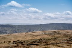 Der Nationalpark des Höchstbezirkes in Derbyshire, Großbritannien lizenzfreie stockbilder