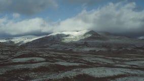 Der Nationalpark Rondane in Norwegen stock video footage