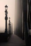 Der Nebel auf dem Tyne Stockbild