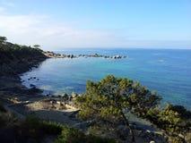 Der Nebenfluss Sardinien-Blaus Lizenzfreie Stockfotos