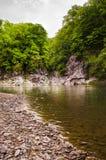 Der nette Fluss Stockfoto