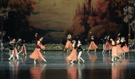 Der nette Tanzballett Swan See Stockfoto
