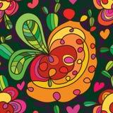 Der netten nahtloses Muster Loch-Art des Kaktus Lizenzfreies Stockfoto