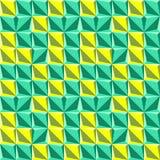 Der neue abstrakte geometrische Hintergrund Stockfoto