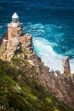 Der neue Leuchtturm des Kap-Punktes Stockbild