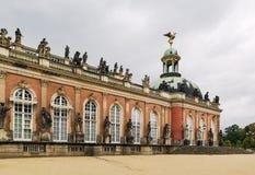 Der neue Palast in Sanssouci-Park, Potsdam, Deutschland lizenzfreies stockfoto