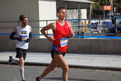 Der New-York-City-Marathon 2014 76 Stockbilder