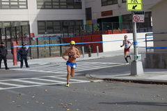 Der New-York-City-Marathon 2014 80 Stockbild