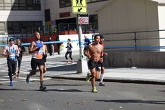 Der New-York-City-Marathon 2014 134 Stockbilder