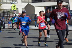 Der New-York-City-Marathon 2014 243 Lizenzfreies Stockbild