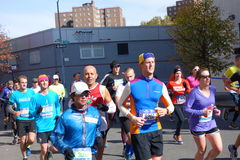 Der New-York-City-Marathon 2014 269 Stockbilder