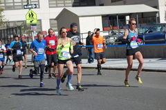 Der New-York-City-Marathon 2014 301 Stockfotografie