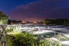 Der Niagara Fluss Lizenzfreies Stockfoto