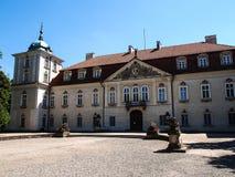 Der Nieborow-Palast, alter magnats Wohnsitz in Polen Lizenzfreie Stockbilder
